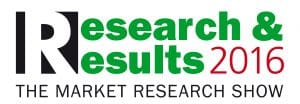SKIM presenting on defining your optimal product bundles at Research & Results 2016 The Market Research Show