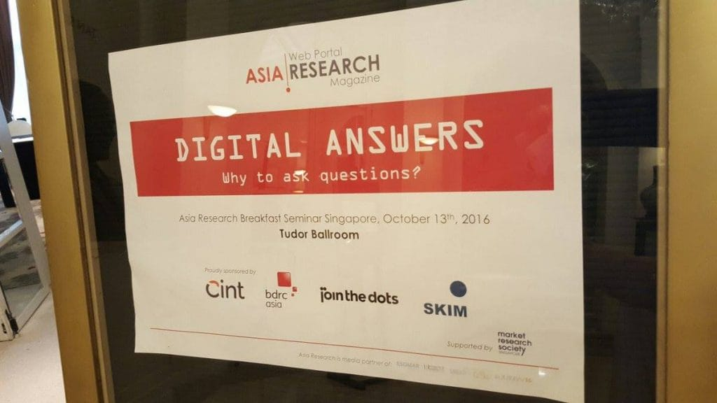Asia Research Digital Answers
