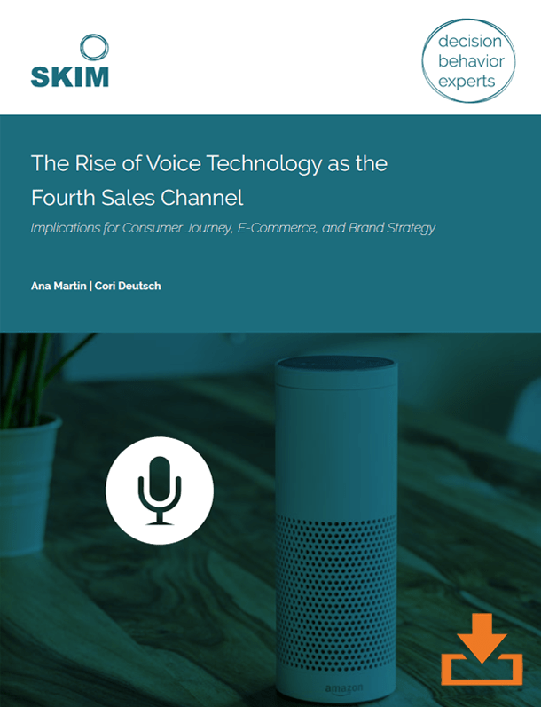 voice technology and brand strategy