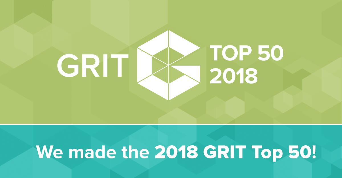 SKIM made GRIT top 50 2018